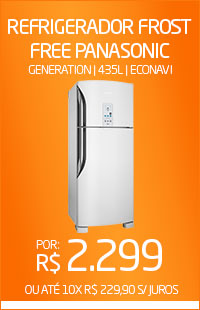 Banner 04 > Refrigerador Frost Free Panasonic