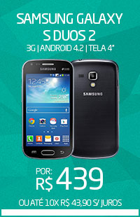 Banner 02 > Galaxy S Duos 2