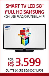 Banner 06 > Smart TV 58 Full HD Samsung