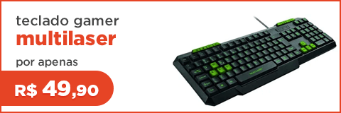 Teclado Gamer Multilaser