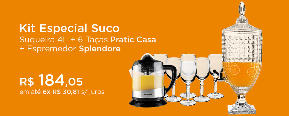 kit Suqueira Pratic Casa